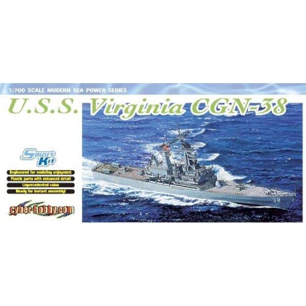 USS Virginia (CGN-38) : Croiseur lance-missile téléguidé à propulsion nucléaire
