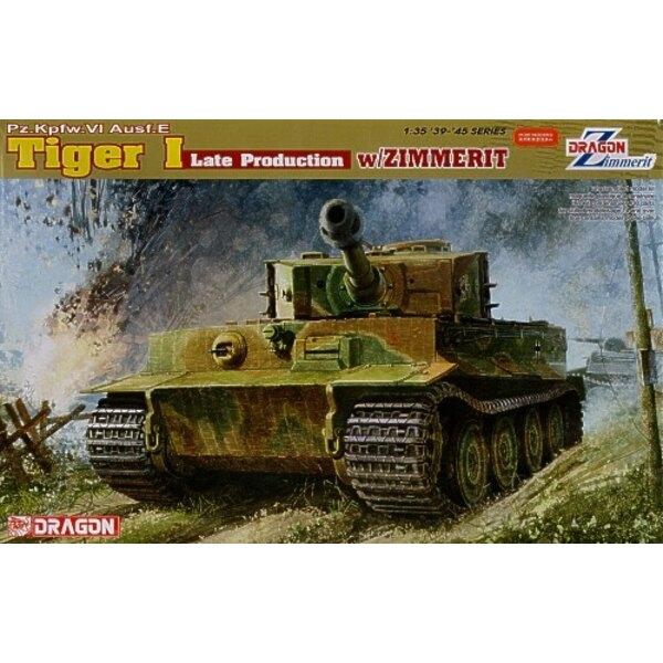 Pz.Kpfw.VI Tiger 1 Ausf. E production tardive avec Zimmerit