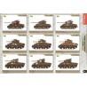 Sherman M4A1 7ème Brigade Blindée Easy Model EZM36249
