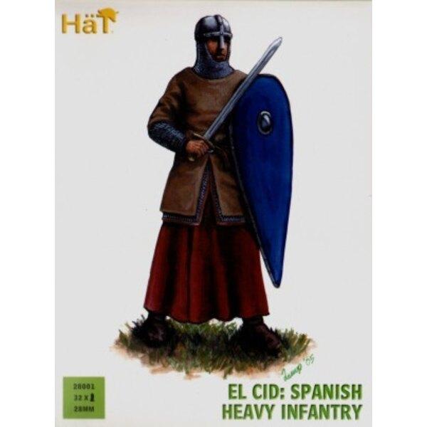 El Cid - Artillerie lourde espagnole - 36 figurines en plastique rigide