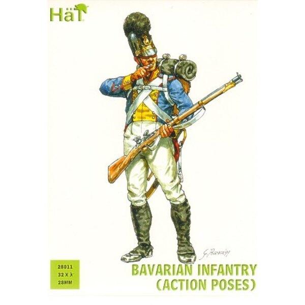 Infanterie bavaroise (en poses d'action)