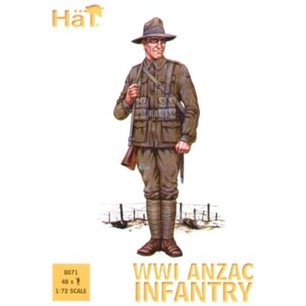 infanterie ANZAC de la 1ère GM