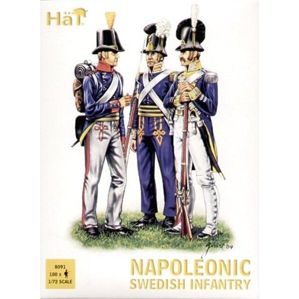 Napoleonic Swedish Infantry x 100 figures