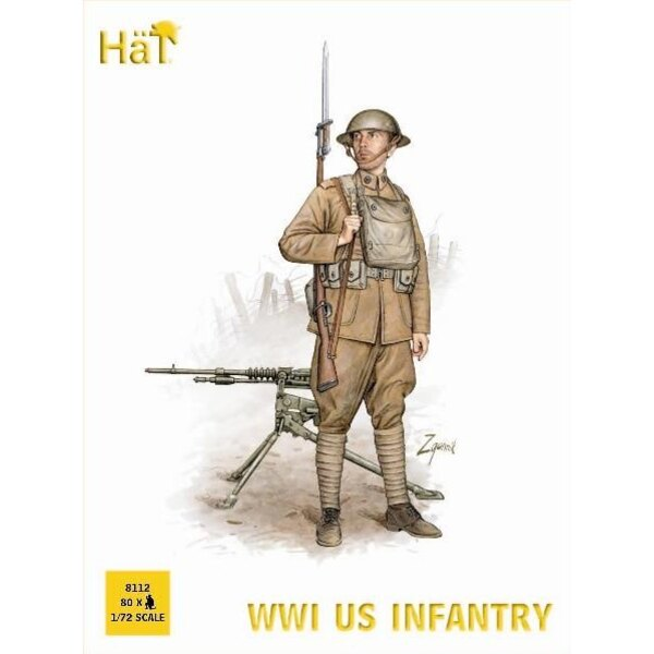 WWI US Infantry