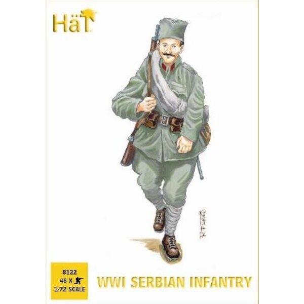 WWI Serbian Infantry