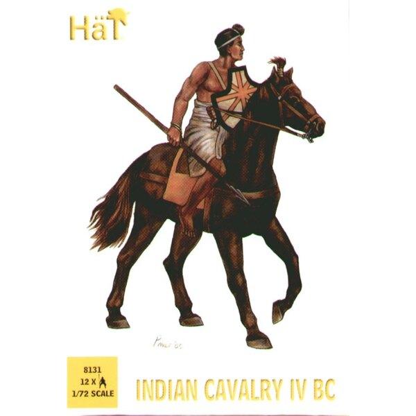 Cavalerie indienne - 12 figurines des guerres entre Alexandre le Grand et Porus