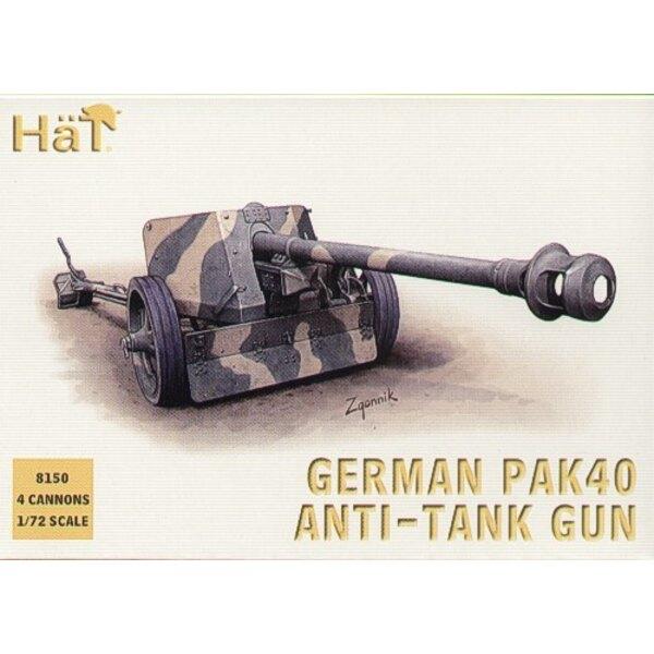 canon antichar de 75 mm Pak 40 allemand de la 2ème GM