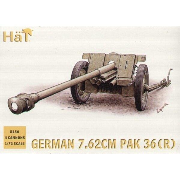 German Pak 36r anti tank gun WWII