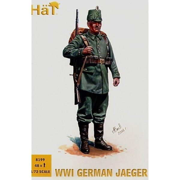 Jaegers Allemand de la 1ère GM - 48 figurines par boîte