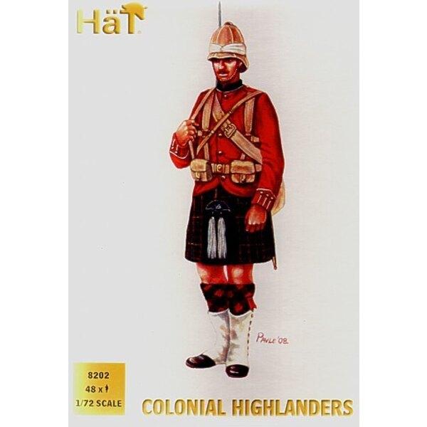 Highlanders des guerres coloniales - 48 figurines par boîte