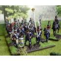 Commandement de chasseurs français. 32 figurines par boîte HAT Industrie HAT8252