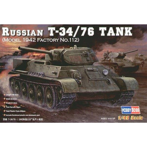 Russian T-34/76 Model 1942 Factory No 112