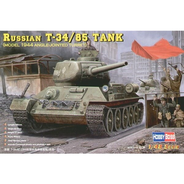 Russian T-34/85 (1944 Angle-jointed Turret)