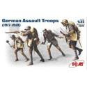 Troupes d'assaut allemandes de la 1ère GM 1917-1918