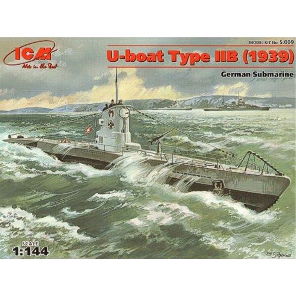 U-boot Type IIB : sous-marin allemand de la 2ème GM 1939
