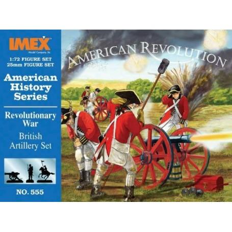 guerre d'indépendance américaine : Artillerie britannique