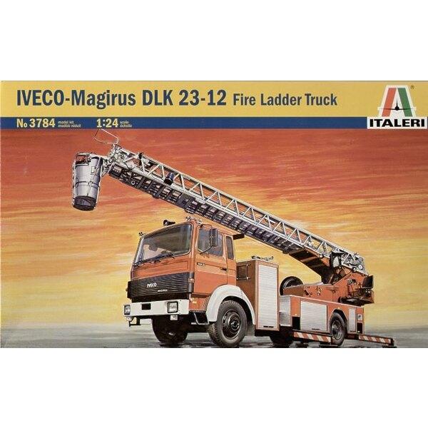 Camion à grande échelle Iveco-Magirus DLK