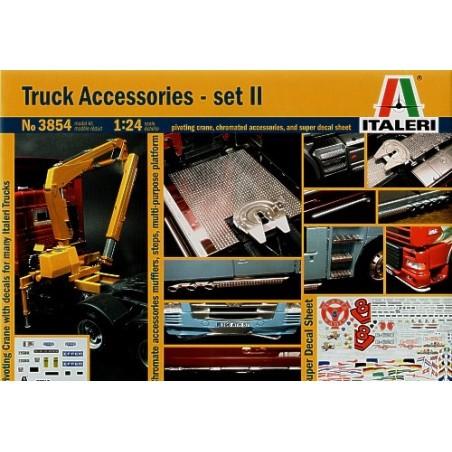 Accessoires pour maquettes de camions