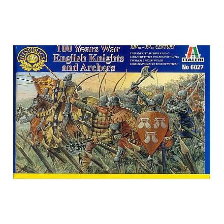 Guerre de 100 Ans : Chevaliers et archers anglais