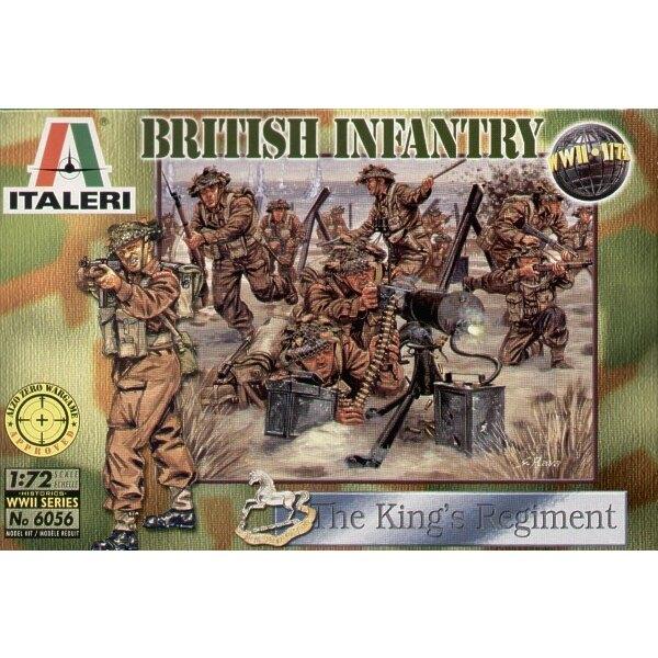 Infantería británica 2 ª Guerra Mundial