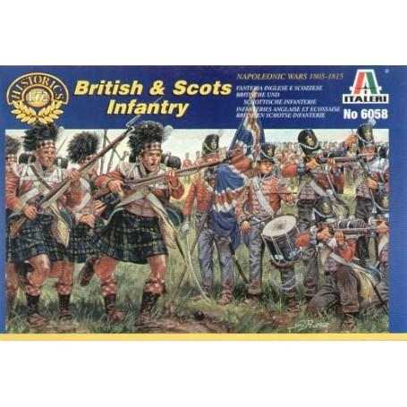 Guerres napoléoniennes : infanterie écossaise et britannique