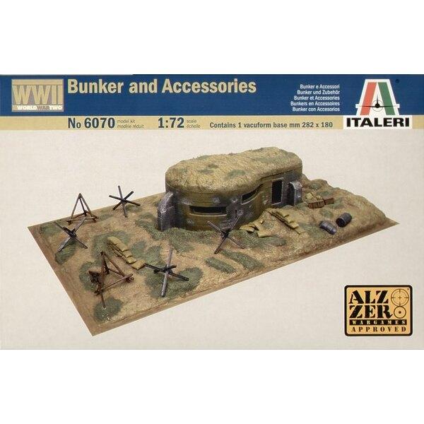 Bunkers de la 2ème GM et accessoires