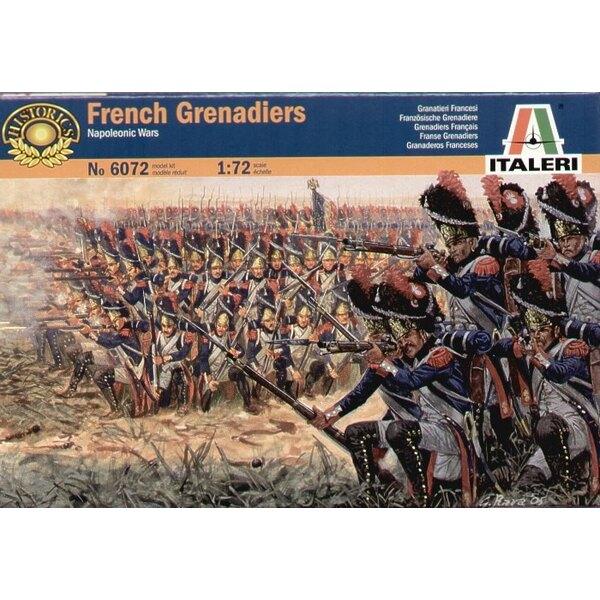 Grenadiers français des guerres Napoléoniennes
