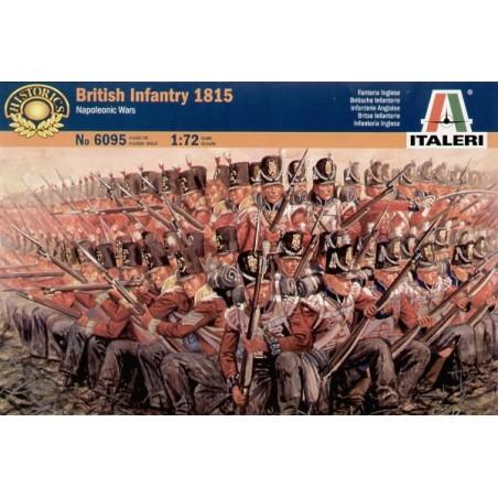Guerres napoléoniennes : Infanterie britannique 1815