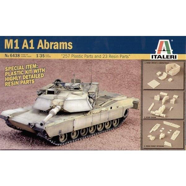 M1A1 Abrams avec pièces en résine