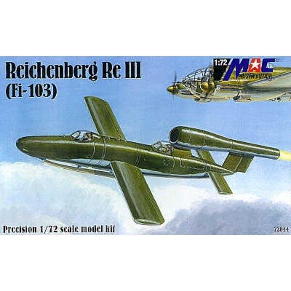 Fieseler Fi 103 Reichenberg III (Fi 103 piloté) avec 2 cockpits