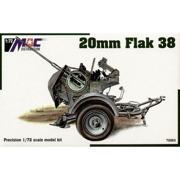 Flak 38 de 20 mm