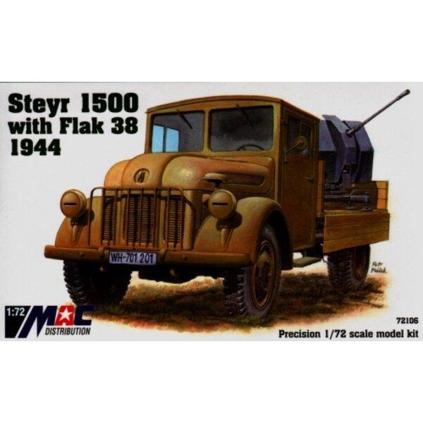 Camion Steyer 1500 avec Flak 38