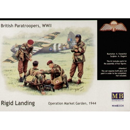 Coffret de Parachutistes britannique 1944
