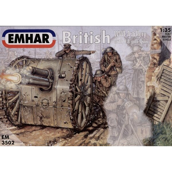 Artillerie britannique de la 1ère GM