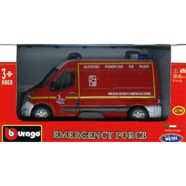 Renault master emergency