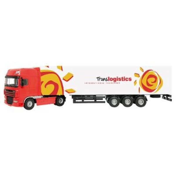 Truck Daf Xf105 with Trailer 1:50