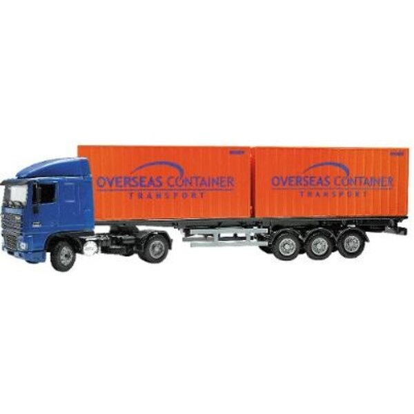 DAF 95XF cabine basse porte container 1/50