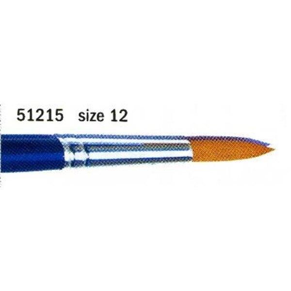 Pincel puntiagudo N° 12 sintético