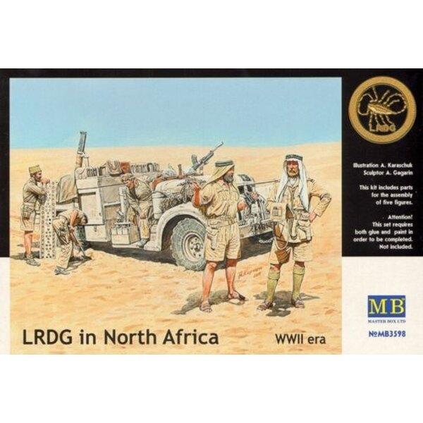 LRDG en Afrique du Nord - Seconde Guerre mondiale