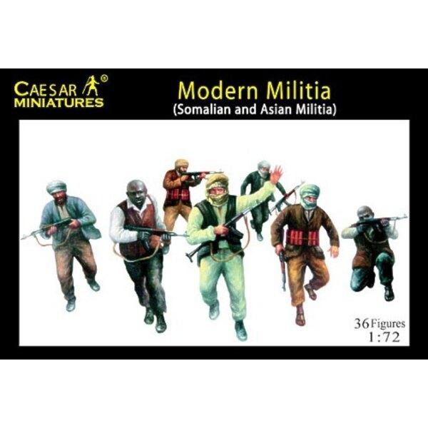 Milice Moderne (Somalienne et asiatique)