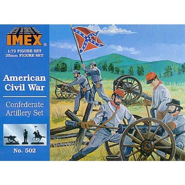 Artillerie confédérée (Guerre de sécession)