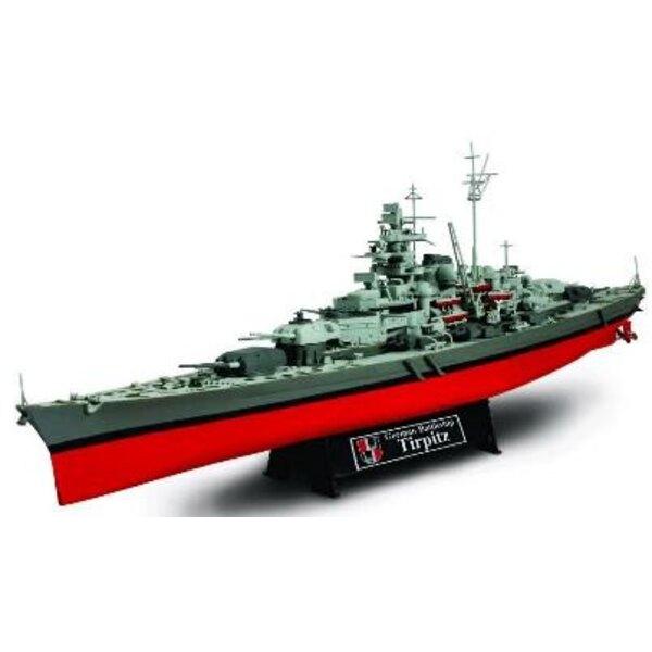 German Battleship Tirpitz 1:700
