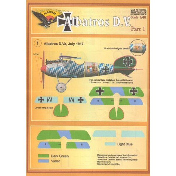 Albatros D.V. Part 1