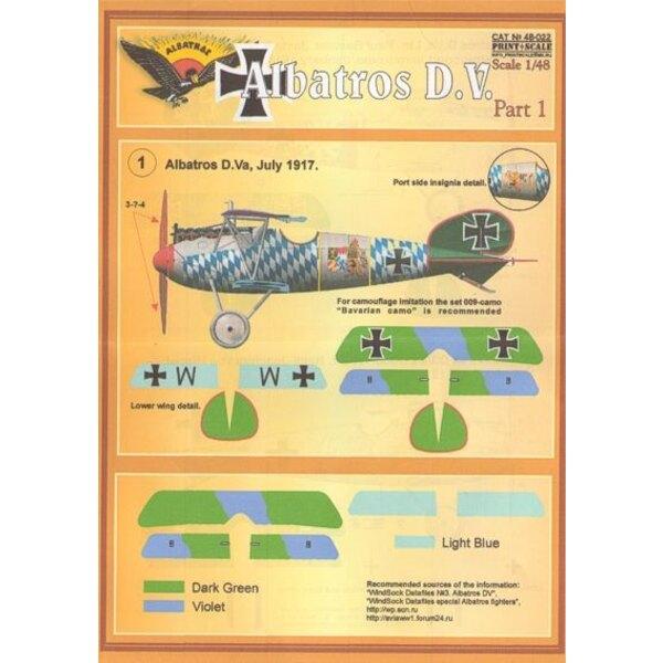 Albatros D.V. Part 1