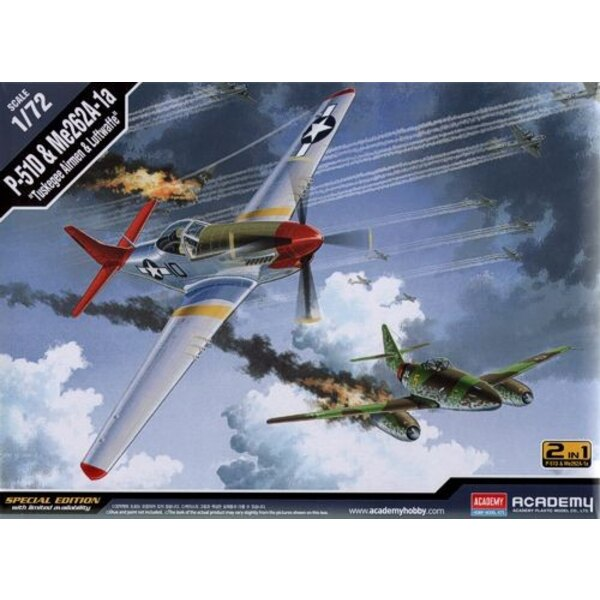 """North-American P-51D & Me 262 A-1 """"Tuskegee Airmen & Luftwaffe"""