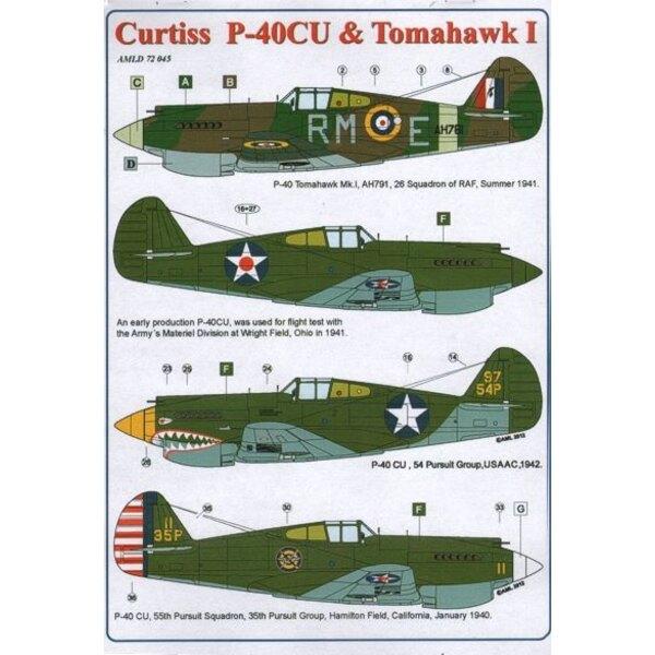 Curtiss P-40CU & Tomahawk I