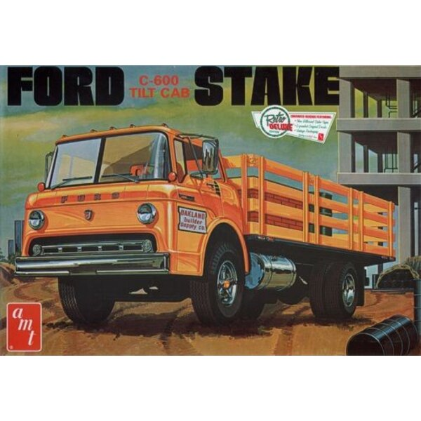 Ford C-600 Stake Bed Truck