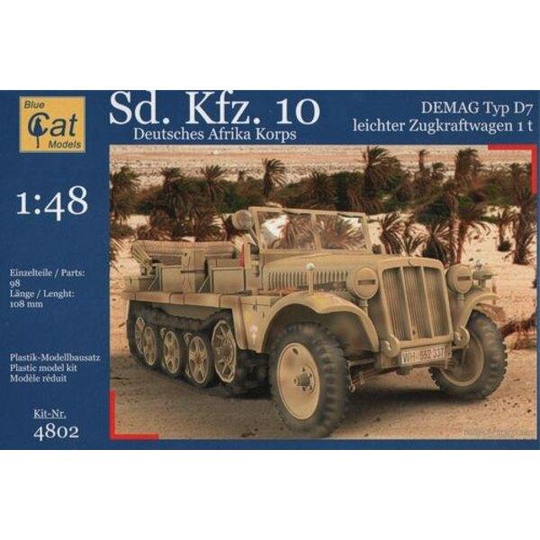Sd.Kfz. 10 Demag DAK (German half track)