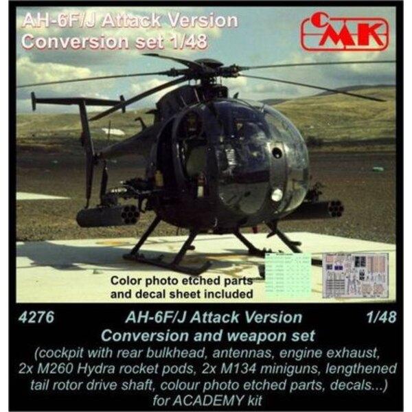 AH-6F/AH-6J Little Bird (Attack) Conversion et set d'armement (conçu pour les maquettes Academy) USA, moderne
