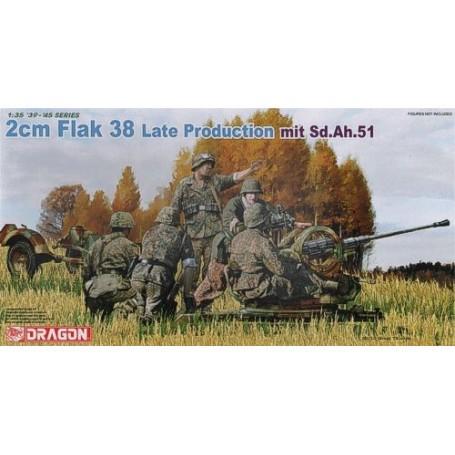2cm Flak 38 production tardive